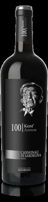 Linea Kent'Annos - Bottiglia di Cannonau di Sardegna D.O.C. Cantina Mandrolisai