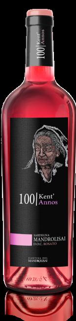 Linea Kent'Annos - Bottiglia di Mandrolisai D.O.C. Rosato Cantina Mandrolisai