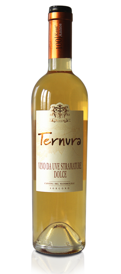 Bottiglia di Vino da uve stramature dolce Ternura