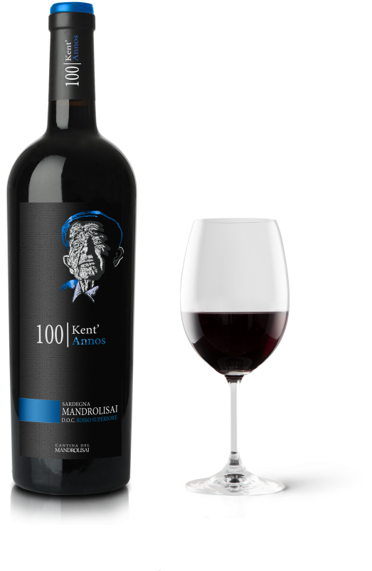 Bottiglia vino rosso Mandrolisai Superiore