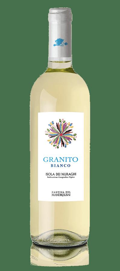 Bottiglia di Vino tipico sardo bianco - Granito Bianco Cantina Mandrolisai