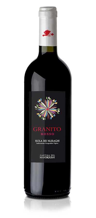 Bottiglia di Vino tipico sardo rosso - Granito Rosso Cantina Mandrolisai