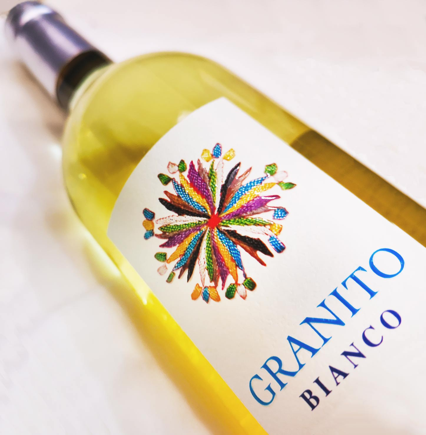 Mandrolisai Granito Bianco - Vino bianco di Sardegna - Isola dei Nuraghi