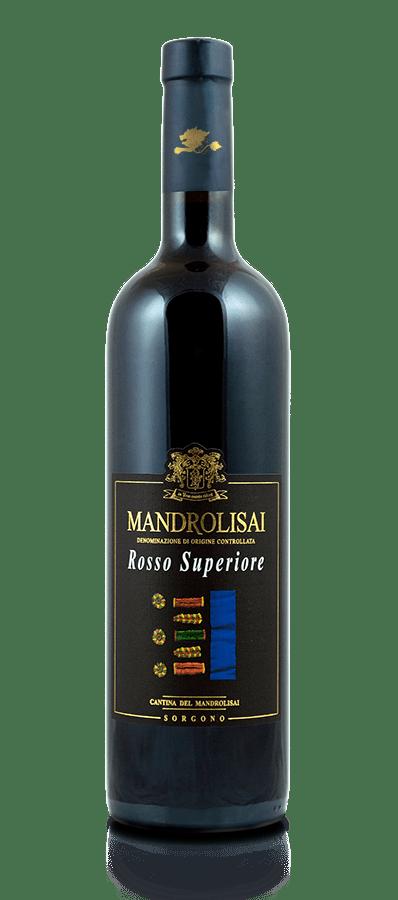 Bottiglia di Vino tipico sardo rosso D.O.P. - Mandrolisai Rosso Superiore Cantina Mandrolisai