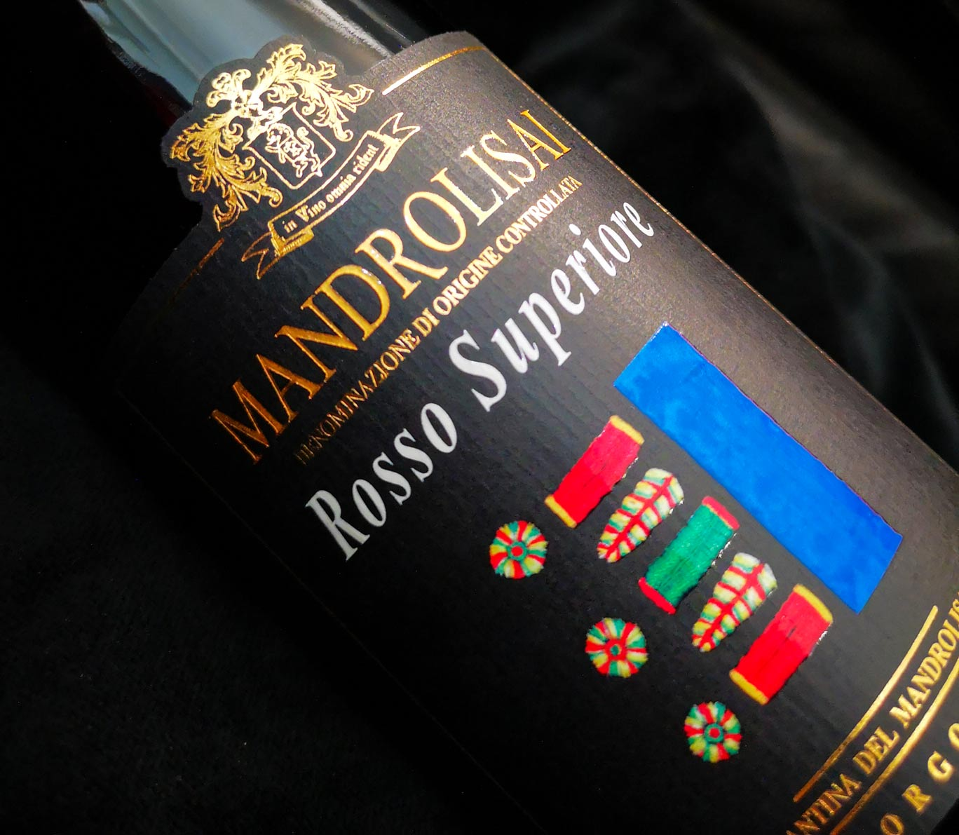 Mandrolisai rosso Superiore - Vino rosso di Sardegna