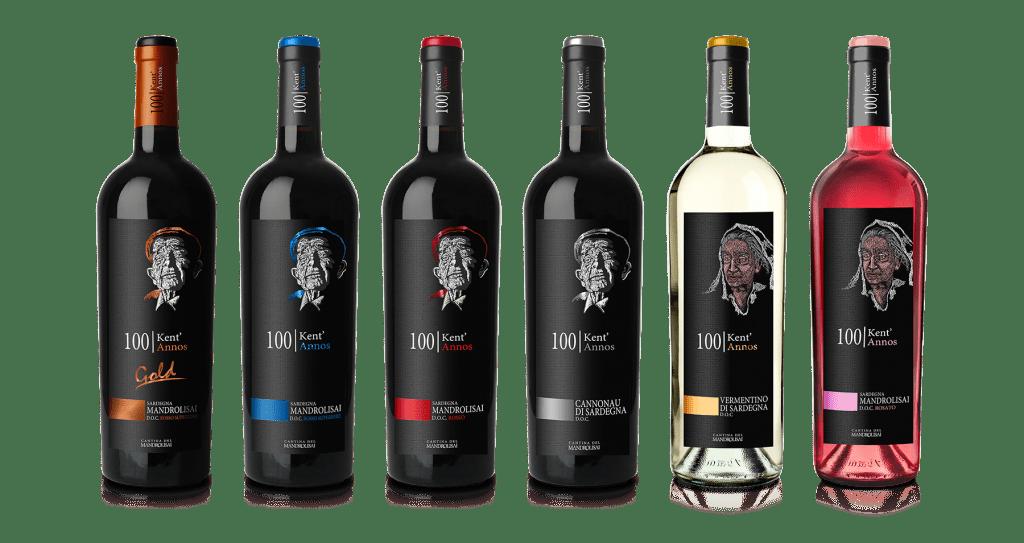 Linea vini Sardegna Kent'Annos - Cantina del Mandrolisai