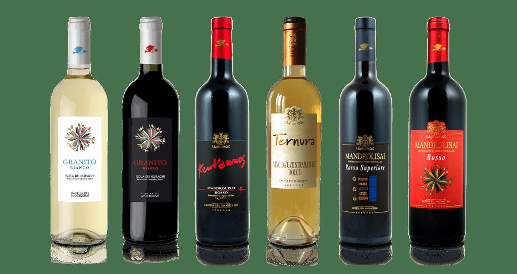 Linea tradizionale vini Sardegna - Cantina del Mandrolisai