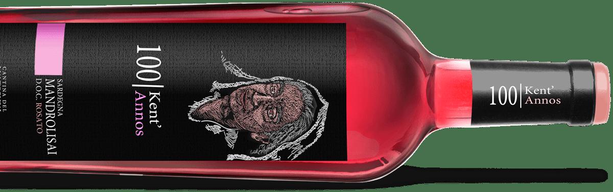 Kent'Annos rosato - Bottiglia di Mandrolisai D.O.C. Rosato
